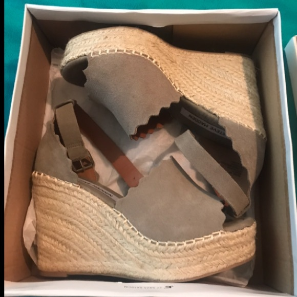 7f44ca1a577 Steve Madden Shoes | Susana Wedges | Poshmark